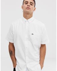 weißes Kurzarmhemd von Lacoste