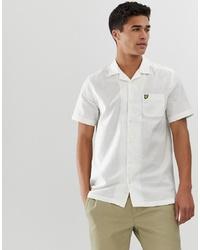 weißes Kurzarmhemd von Lyle & Scott