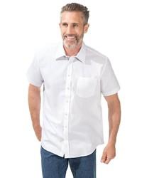 weißes Kurzarmhemd von MARCO DONATI