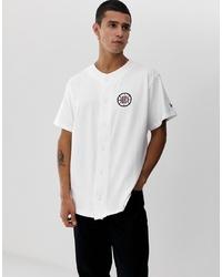 weißes Kurzarmhemd von New Era