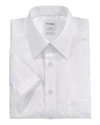 weißes Kurzarmhemd von Olymp