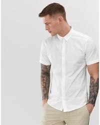 weißes Kurzarmhemd von ONLY & SONS