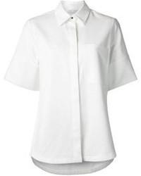 weißes Kurzarmhemd von Proenza Schouler