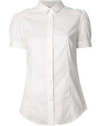 weißes Kurzarmhemd von RED Valentino