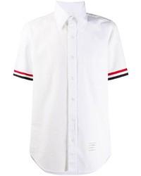weißes Kurzarmhemd von Thom Browne