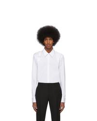 weißes Langarmhemd von Alexander McQueen