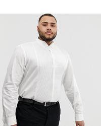 weißes Langarmhemd von ASOS DESIGN