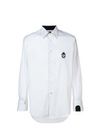 weißes Langarmhemd von Billionaire