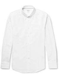 weißes Langarmhemd von Brunello Cucinelli