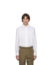 weißes Langarmhemd von Burberry