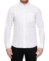 weißes Langarmhemd von Calvin Klein Jeans
