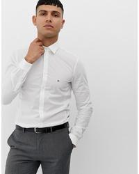 weißes Langarmhemd von Calvin Klein