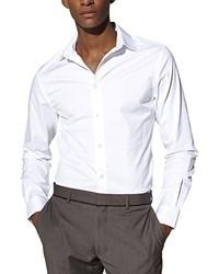 Weißes Langarmhemd von Celio