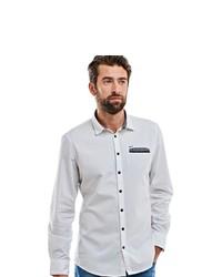 weißes Langarmhemd von ENGBERS
