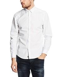 weißes Langarmhemd von Esprit