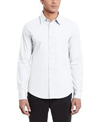 weißes Langarmhemd von G-Star RAW