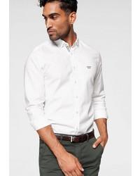 weißes Langarmhemd von Joop Jeans