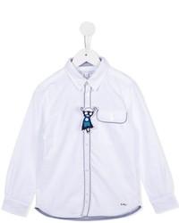 weißes Langarmhemd von Little Marc Jacobs