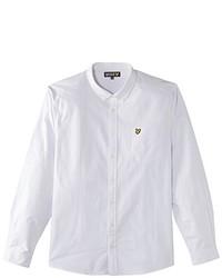 Weißes Langarmhemd von Lyle & Scott