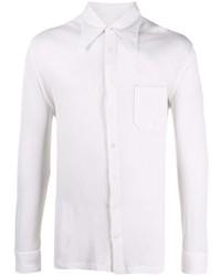 weißes Langarmhemd von Maison Margiela