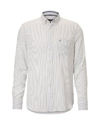 weißes Langarmhemd von Marc O'Polo
