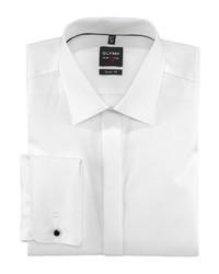weißes Langarmhemd von Olymp