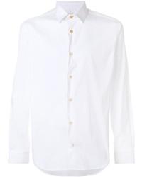 weißes Langarmhemd von Paul Smith