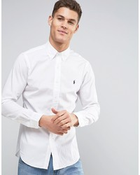 weißes Langarmhemd von Polo Ralph Lauren