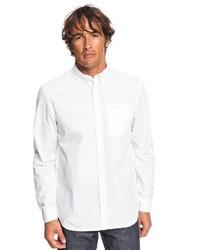 weißes Langarmhemd von Quiksilver