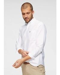 weißes Langarmhemd von Selected Homme