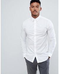 weißes Langarmhemd von Siksilk