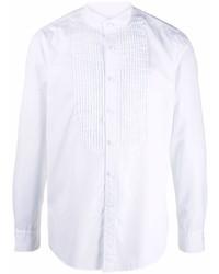 weißes Langarmhemd von Tagliatore