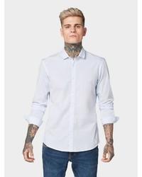 weißes Langarmhemd von Tom Tailor Denim
