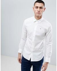 weißes Langarmhemd von Tommy Jeans