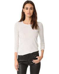 weißes Langarmshirt von AG Jeans