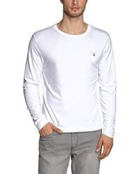 weißes Langarmshirt von Gant
