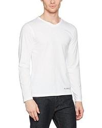 weißes Langarmshirt von s.Oliver