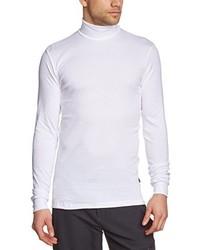 weißes Langarmshirt von Trigema