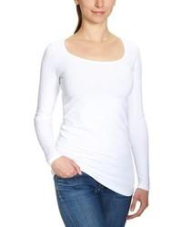 weißes Langarmshirt von Vero Moda