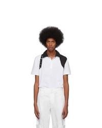 weißes Polohemd von Alexander McQueen