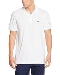 weißes Polohemd von Benetton