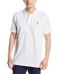 weißes Polohemd von Crew Clothing