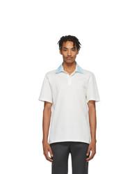 weißes Polohemd von Lanvin