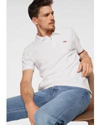 weißes Polohemd von Levi's