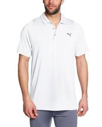 weißes Polohemd von Puma