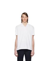 weißes Polohemd von Thom Browne