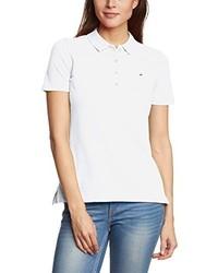 weißes Polohemd von Tommy Hilfiger
