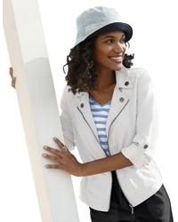 weißes Sakko von Casual Looks