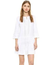 weißes schwingendes Kleid von Vince