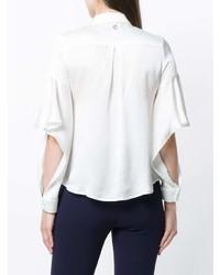 weißes Seide Businesshemd von L'Autre Chose